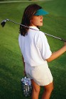 Woman - Consulting services for female golfers and golf resorts.